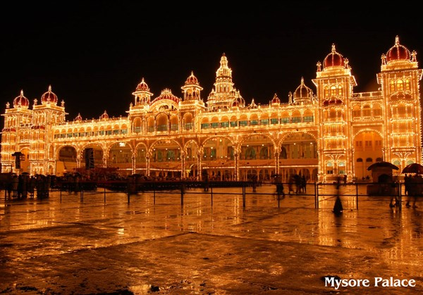 Mysore Sightseeing 2-Days Tour from Cuddalore to Cuddalore.