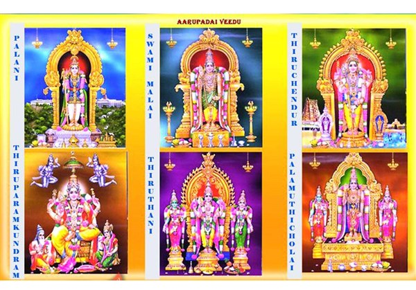 Arupadai Veedu - The six abodes of Lord Murugan Temple Tour from Coimbatore to Coimbatore.