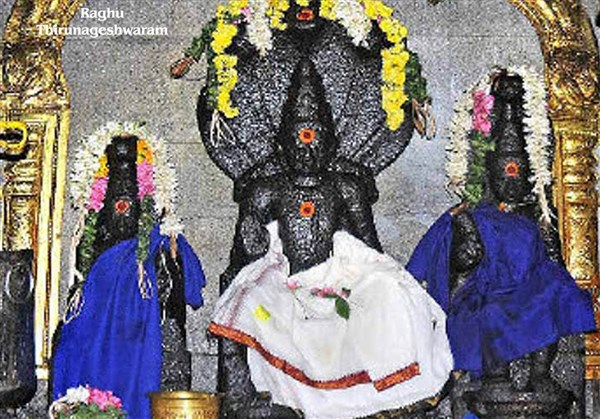 Raaghu Koil, Thirunageshwaram - Karthi Travels | Polur - Navagraha Temples Tour Package