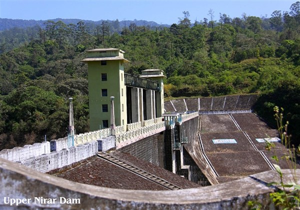 Upper & Lower Nirar Dam, Valparai - Karthi Travels | CMC - Kodaikanal & Valparai Tour