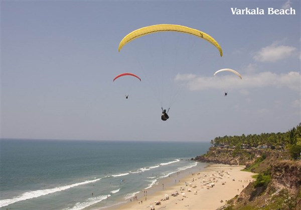 Varkala 2-Days Sightseeing Tour from Arni to Arni.